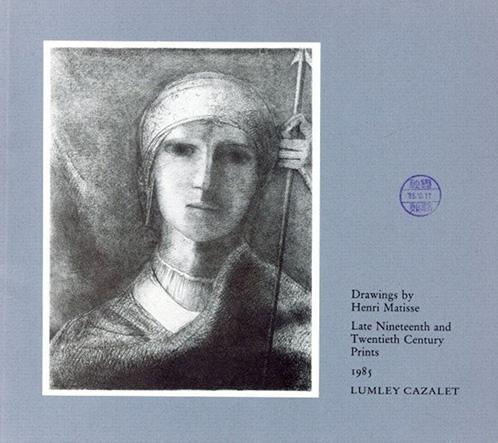 アンリ・マティス Drawings by Henri Matisse. Late Nineteenth and Twentieth Century Prints. Catalog 3 1985/