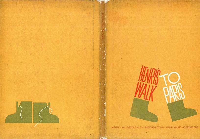 ソール・バス Henri's Walk to Paris/Leonore Klein文・Saul Bassデザイン