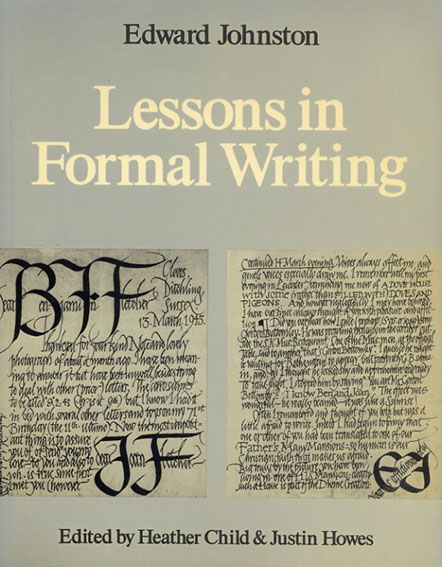 Lessons in Formal Writing/