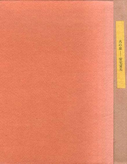 歌集 火の泉/安宅夏夫
