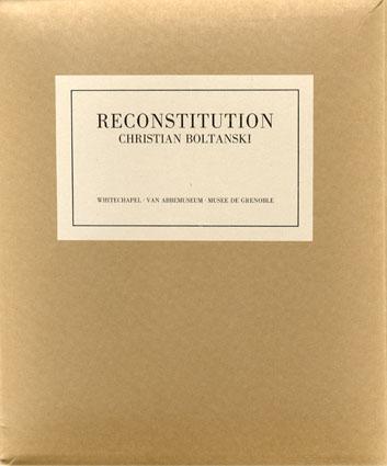 クリスチャン・ボルタンスキー Christian Boltanski: Reconstitution/F. Lunn編