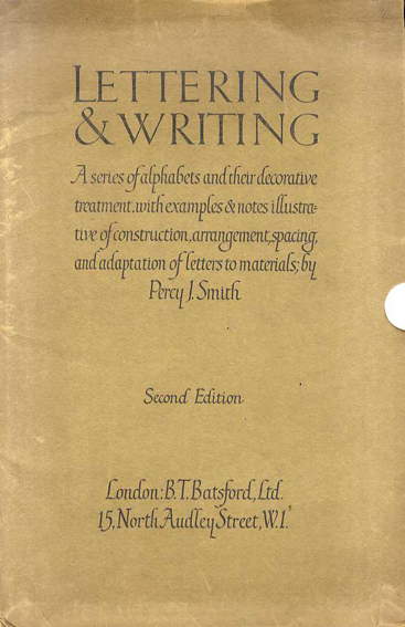 Percy J Smith: Lettering & Writing/Percy J Smith