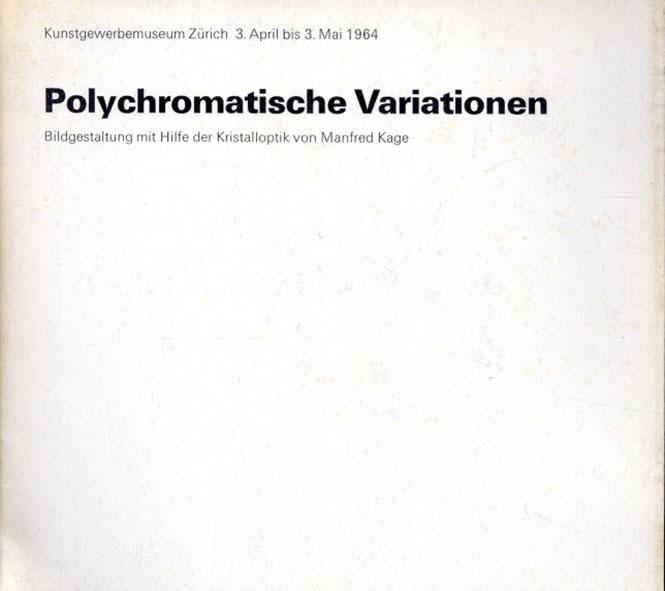 マンフレッド・カゲ Polychromatische Variationen/