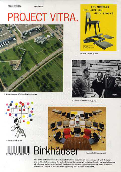 Project Vitra/Cornel Windlin/Rolf Fehlbaum編