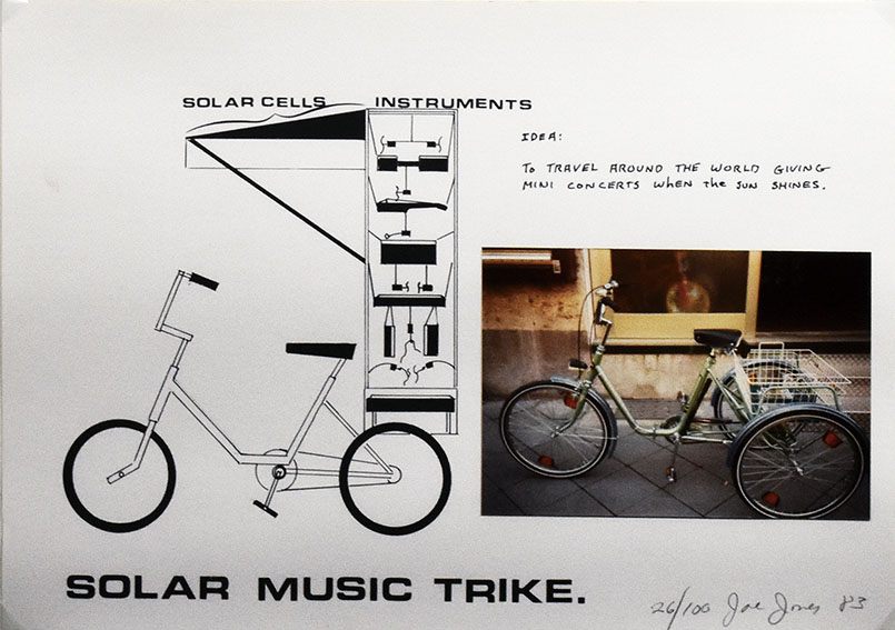 Solar Music Trike/ジョー・ジョーンズ