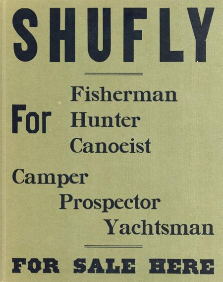 ブルース・ウェーバー写真集 Shufly for Fisherman Hunter Canoeist Camper Prospector Yachtsman For Sale Here/ブルース・ウェーバー