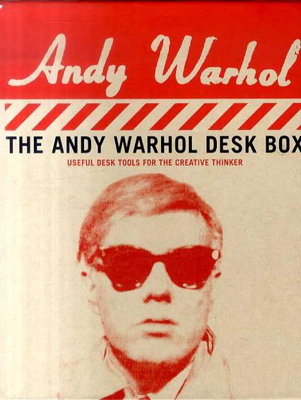 アンディ・ウォーホル Andy Warhol Desk Box/Galison/The Andy Warhol Foundation