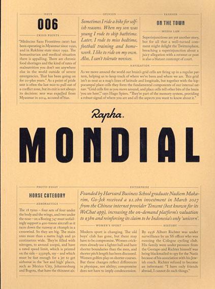 Rapha Mondial Magazine issue006/