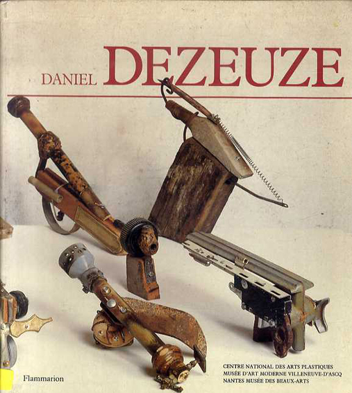 ダニエル・ドゥズーズ Daniel Dezeuze/ダニエル・ドゥズーズ