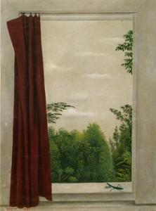 《窓とかまきり》 1930年