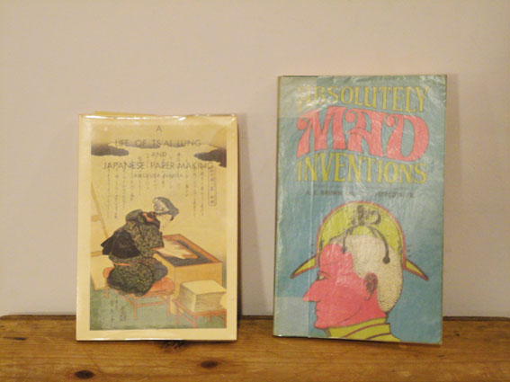 真鍋博旧蔵の洋書。日本の紙とMAD!