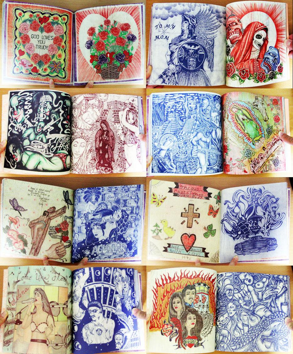 Panos Chicanos Prison Art