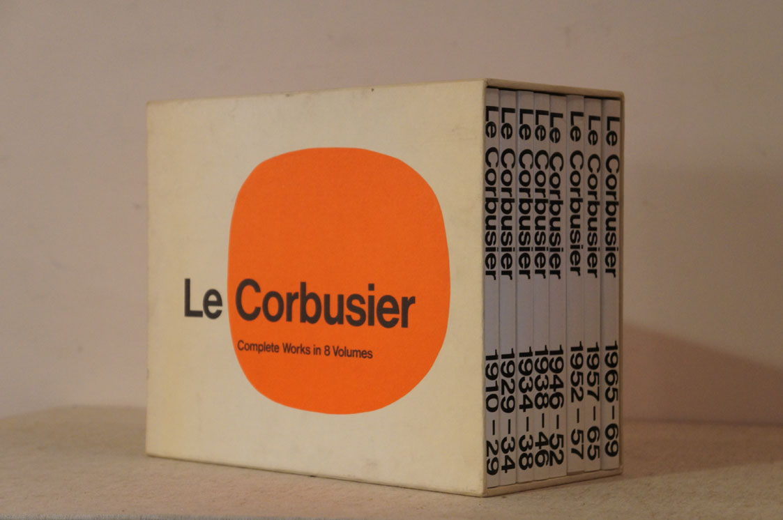 ル・コルビュジエ全作品集 Le Corbusier: Complete Works in 8 Volumes カモン・クリスマス!△