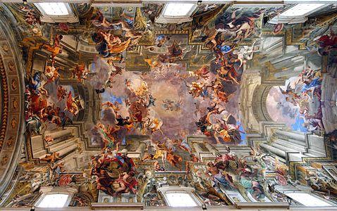 サンティニャツィオ・ディ・ロヨラ教会 壁画