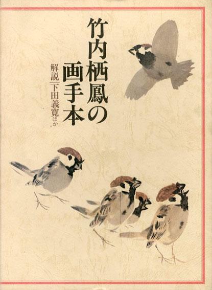 竹内栖鳳の画手本 下田義寛他 1978年