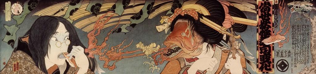『魚女と芸術家』 左が寺岡政美自身です。