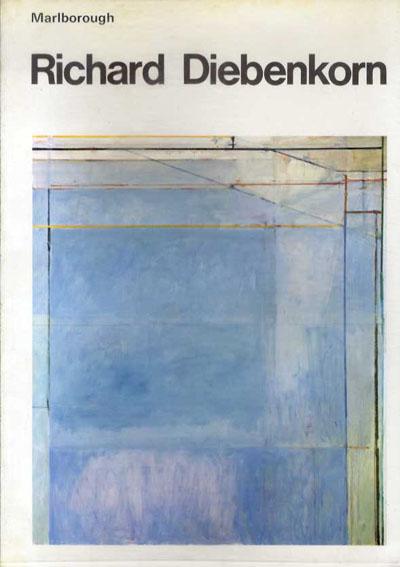 リチャード・ディーベンコーン Richard Diebenkorn. The Ocean Park Series: Recent work 1974年/Marlborough 英語版 プラスチックカバー