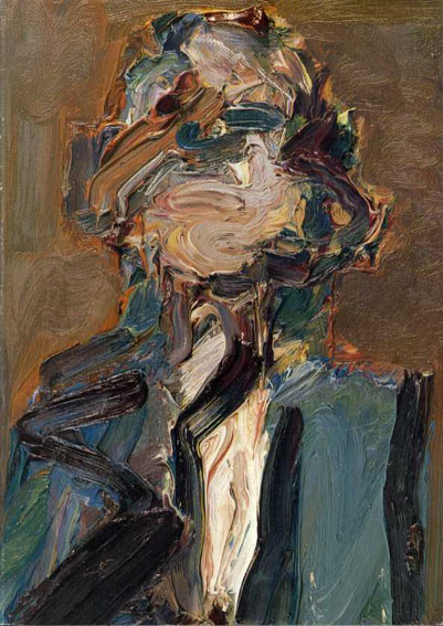 フランク・アウアバーク Frank Auerbach: Recent Paintings and Drawings 1987年/Marlborough 英語版