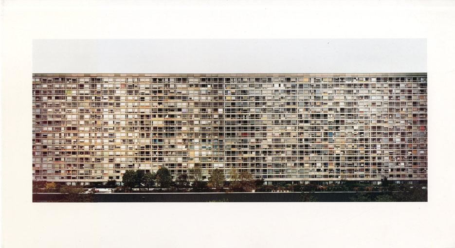 アンドレアス・グルスキー Montparnasse Andreas Gursky写真 Hans Irrekエッセイ 1995年/Oktagon Verlagsgesellschaft mbH 独語版 プリント1枚付 「Image」「Texte」2冊揃 函
