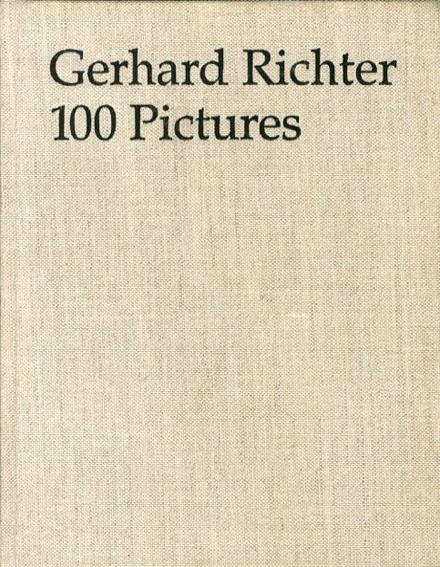ゲルハルト・リヒター Gerhard Richter: 100 Pictures Hans-Ulrich Obrist 1996年/Canz 独語版 布装