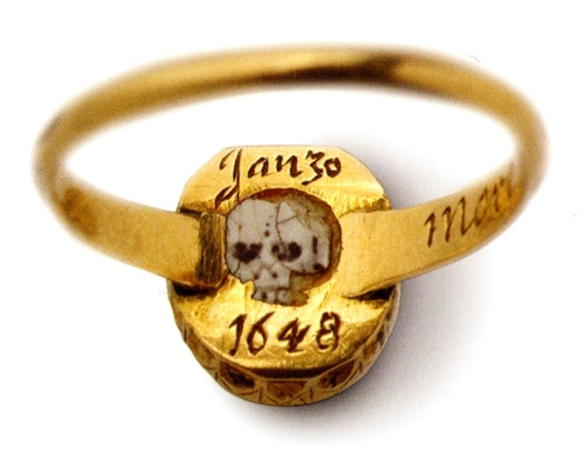 Totally Awesome Skull Ring Back
