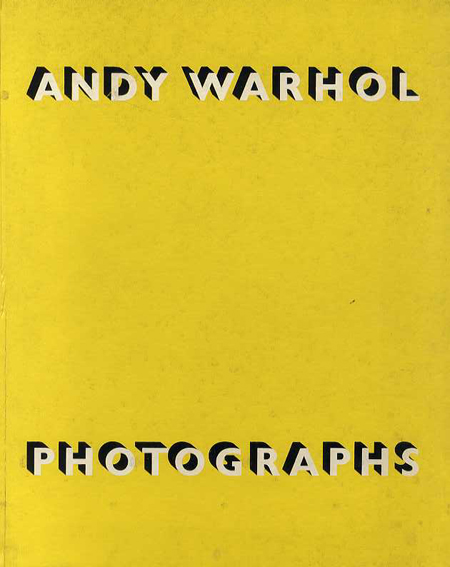 アンディ・ウォーホル Andy Warhol: Photographs Stephen Koch 1987年/Robert Miller Gallery 英語版 少汚れ
