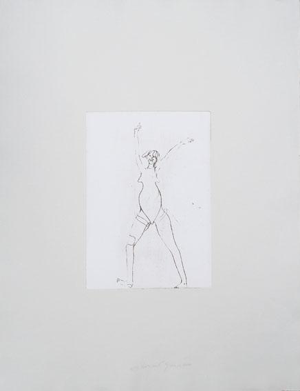 ヨーゼフ・ボイス版画額「Girl」