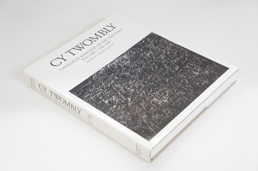 サイ・トンブリー カタログ・レゾネ Cy Twombly: Catalogue Raisonne of the Paintings 全4冊揃 Cy Twombly Heiner Bastian編 1992-1995年/Schirmer/Mosel 英・独語版 カバー 函 全4冊揃
