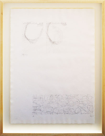 ヨーゼフ・ボイス/ジョン・ケージ版画額  Joseph Beuys/John Cage