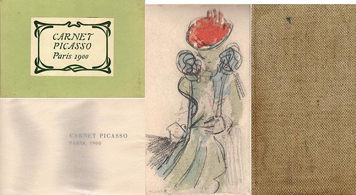 パブロ・ピカソ「Carnet Picasso」