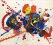 サム・フランシス版画「Tokyo Red」/Sam Francisのサムネール