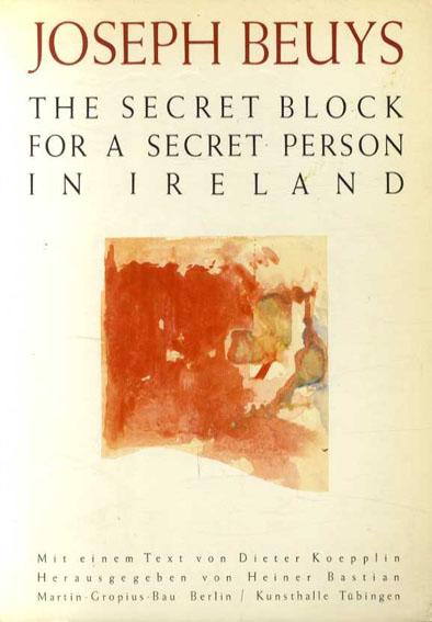 ヨーゼフ・ボイス Joseph Beuys: The Secret Block For A Secret Person In Ireland/Marx Sammlung