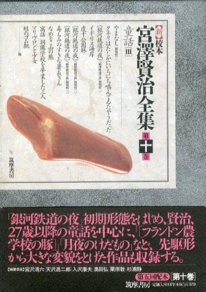 新校本 宮澤賢治全集 第10巻 童話3 2冊組/宮沢賢治