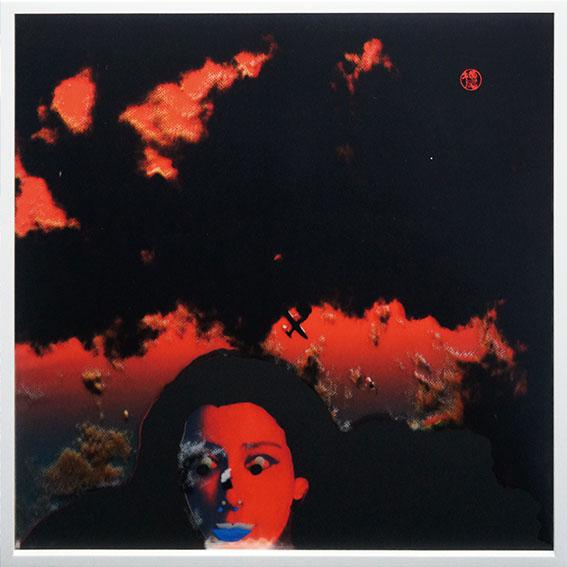 横尾忠則版画額「ヴォーグの女」/Tadanori Yokoo
