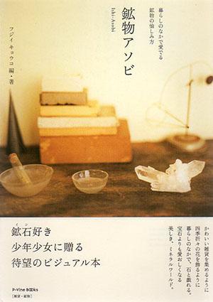 鉱物アソビ 暮らしのなかで愛でる鉱物の愉しみ方 P-Vine Books/フジイキョウコ