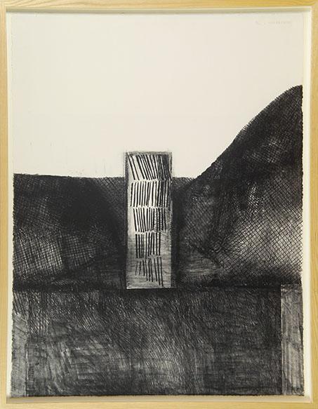 若林奮版画額「Untitled1」/Isamu Wakabayashi
