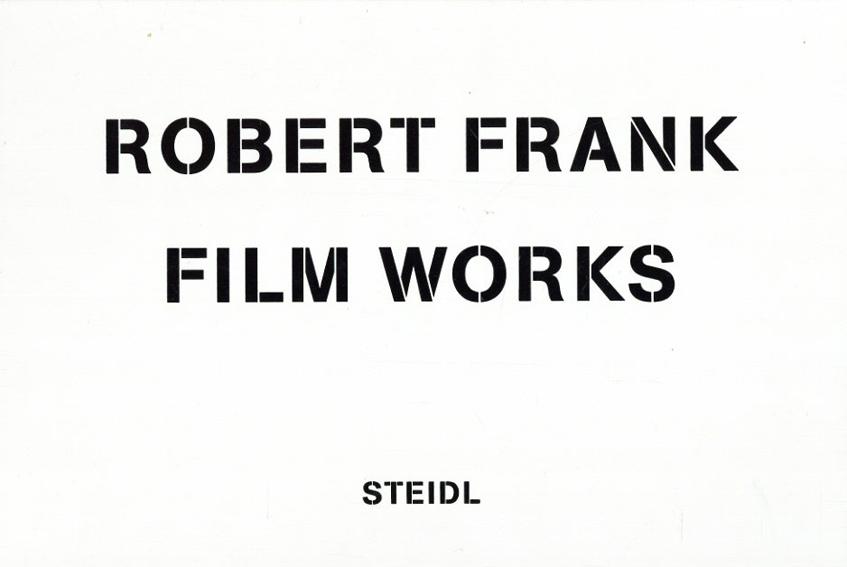ロバート・フランク写真集 Film Works 5冊組/Laura Israel/Brigitta Burger-Utzer/Stefan Grissemann編 Robert Frank写真